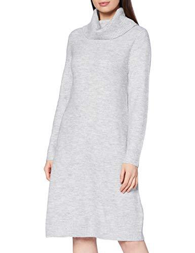 Cartoon Damen 1207/7928 Kleid, Light Grey Melange, 40