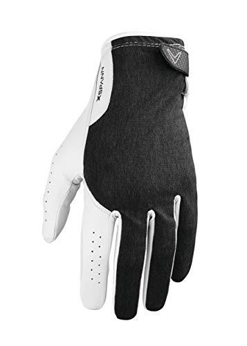 Callaway Herren Gloves Golfhandschuhe X Spann (rechte Hand, M, weiß/schwarz), M