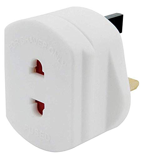 1 Piece UK 3 Pin To EU 2 Pin Adaptor Plug Travel Plug Converter Adapter for Phones Laptop Camera Chargers