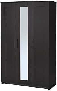 IKEA Wardrobe with 3 Doors, Black 2028.81120.218