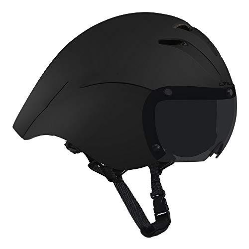 gdangel Fahrradhelm Radfahren Helm Zeitfahren Site Racing Full Face Bike Helm Magnetische Brille Triathlon Fahrrad Helm Cap