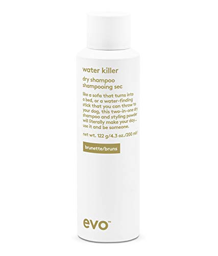 Evo Water Killer Dry Shampoo Brunette, 200 ml