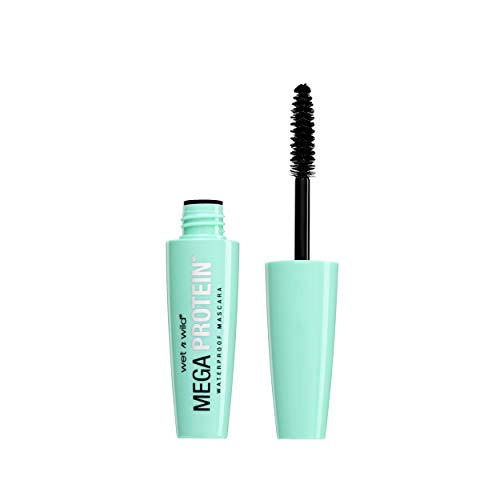 wet n wild Mega Protein Waterproof Mascara, Very Black, 0.21 Ounce