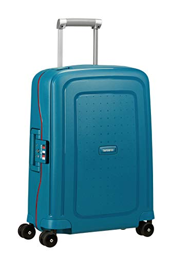 Samsonite S'Cure - Spinner Equipaje de Mano 55 Centimeters 34 Azul (Petrol...
