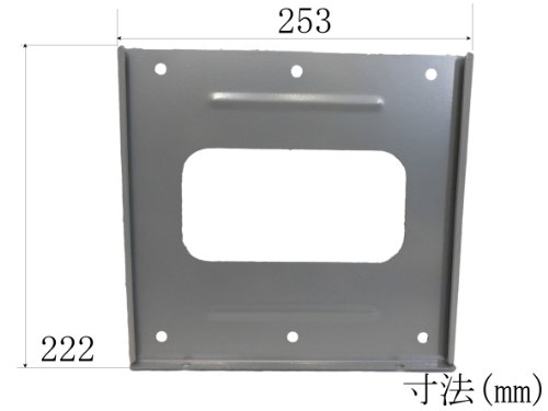 『viewing(ヴューイング) VESA規格対応 薄型 マウント テレビ壁掛け金具 モニター TV 液晶テレビ用 VMF3210B 15-32型対応 ブラック』の5枚目の画像