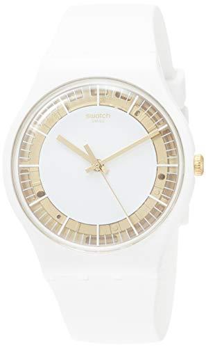 Swatch Orologio Analogico Quarzo Donna con Cinturino in Silicone SUOW158
