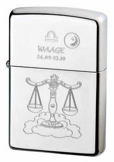 Zippo Briquet Zodiac Balance Collection