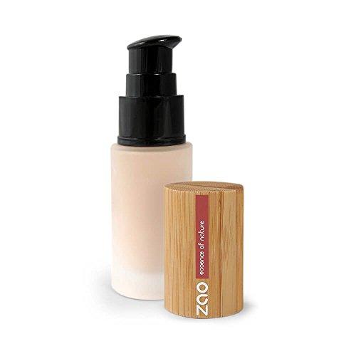 Zao Make Up–Maquillaje fluido Soie de Teint - 711 arena claro