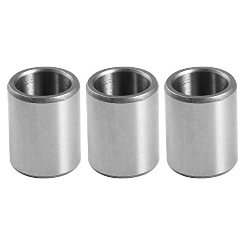 ULTECHNOVO 3pcs Steel Sleeve Bearing Precision Jig Bushing Bearing Professional Sleeve Bearing Replacement for Home Shop Factory Supplies