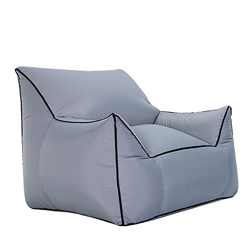QIANMEI Im Freien Aufblasbaren Sofa |Freizeit Beweglicher Sitz |Pool Beach Sun Bath Sofa |Freie Luftpumpe |Tragfähigkeit 200 Kg |80 × 95 × 80 cm (Color : F)