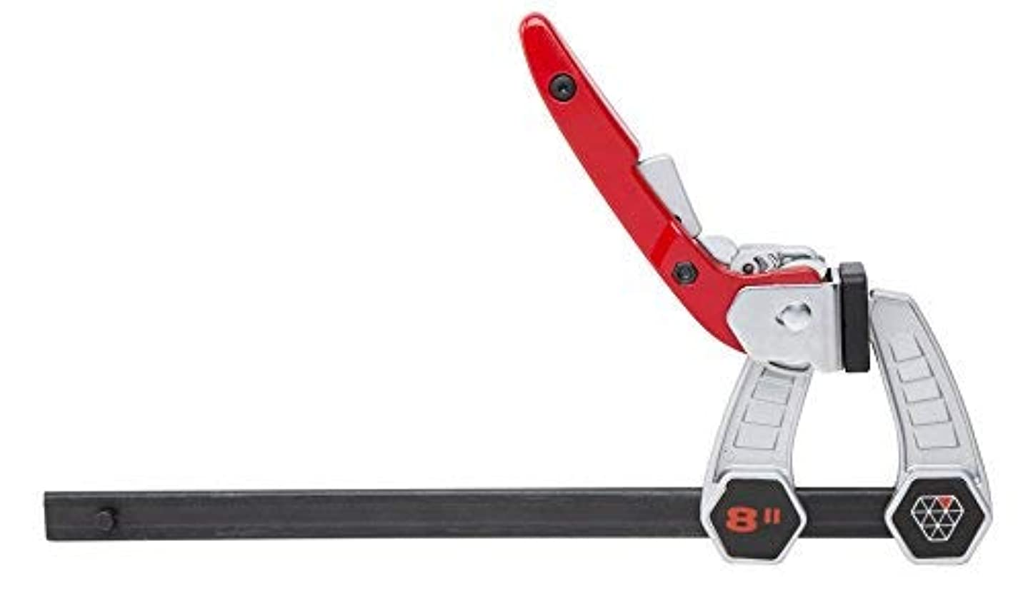 リマークシャイニングブームSPEEDJAW 94066 8-Inch Ratcheting Handle F-Clamp [並行輸入品]