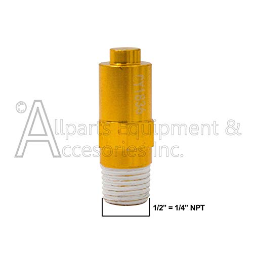 7101359 Thermal Relief Valve 1/4 MPT TRV AAA Triplex Plunger Pump by Allparts Equipment