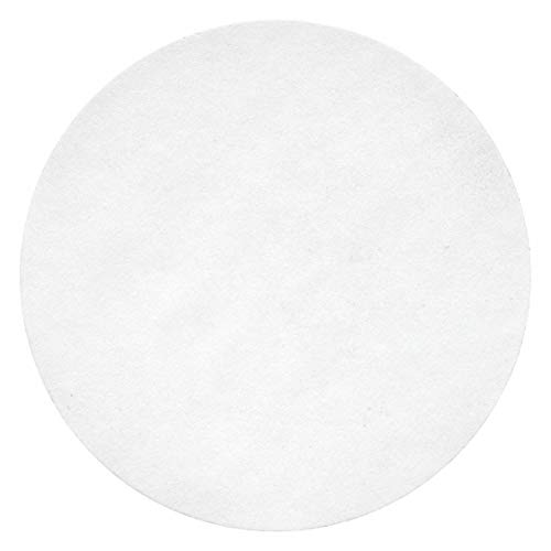 Qualitative Filter Paper, Cellulose, Grade CFP1, 24.0cm Diameter, 11.0um Pore Size, PK 100-1 Each -  LAB SAFETY SUPPLY, 12K898