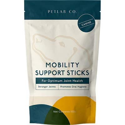 Petlab Co. Mobility Support Sticks For Dogs | Joint Supplements For Dogs | Maintains Flexibility & Mobility | Supports Oral Hygiene
