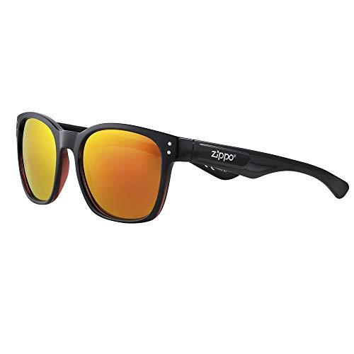 Zippo Gafas de sol 2020 OB68-01 lentes amarillas de espejo