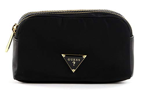 Guess Did I Say 90s? Double Zip Cosmetic Bag Black