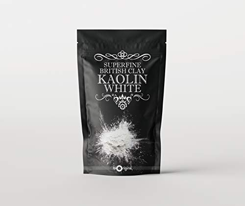 Mystic Moments Kaolin White Superfine British Clay – 500 g