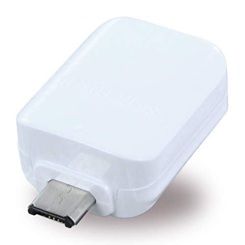 SAMSUNG - EE-UG930 - OTG Adapter/Connector Micro USB to USB - White