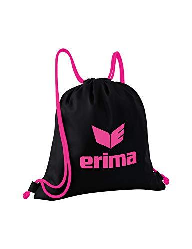 Erima Pro Turnbeutel, schwarz/pink, Einheitsgröße