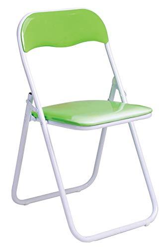Lot de 6 sièges pliants colorés vert