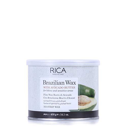 Sunzze Brazilian Waxing Hartwachs in der Dose zur Enthaarung Heißwachs für Wachsgeräte Wachswärmer, 400ml