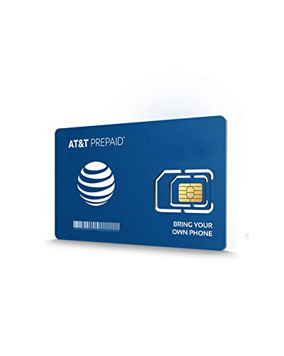 AT&T PREPAID Unlimited Data $50/Mo Plan & Sim Kit