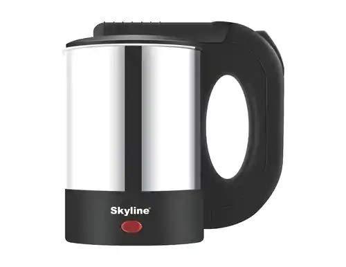 Skyline VTL-5013 Electric Kettle (0.5, Black, Silver).