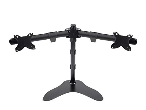 "Monoprice Dual Monitor Free Standing Desk Mount 15"" - 30"" (13815)"