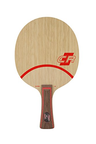 Stiga Clipper CR de with WRB (Master Grip) Table Tennis Blade, Wood, One Size