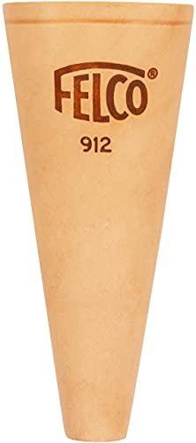 FELCO Etui Nr. 912 (Tasche für Gartenschere, aus Echtleder, inkl. Schlaufe + Klammer zur Befestigung am Gürtel, für eine Schere) FELCO 912