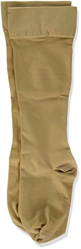 Jobst Women's UltraSheer Moderate Support Knee Highs, Large, beige by CloseoutZone
