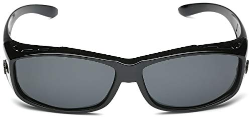 Barricade Polarized Rectangular Fit Over Glasses Sunglasses