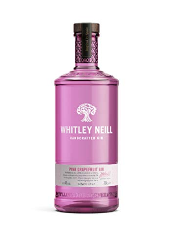 Whitley Neill Pink Grapefruit Gin, 70 cl