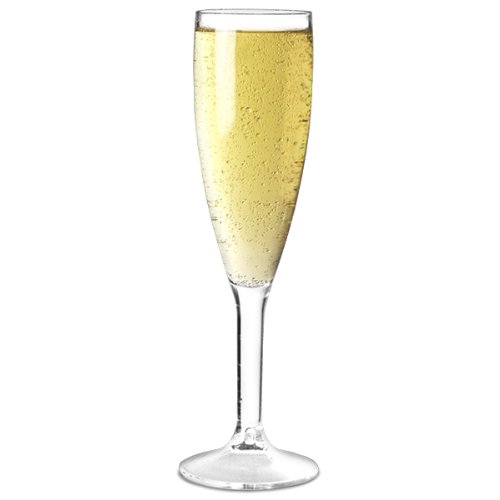 BB Plastics Champagne Glas, Polycarbonaat Kunststof, 190ml
