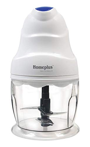 Home Plus 250 Watts Electric Vegetable Chopper With Double Blade, White