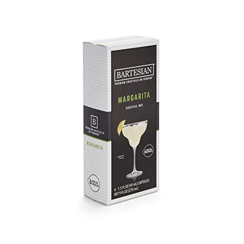 Bartesian Margarita Cocktail Mixer Capsules, Pack of 6...