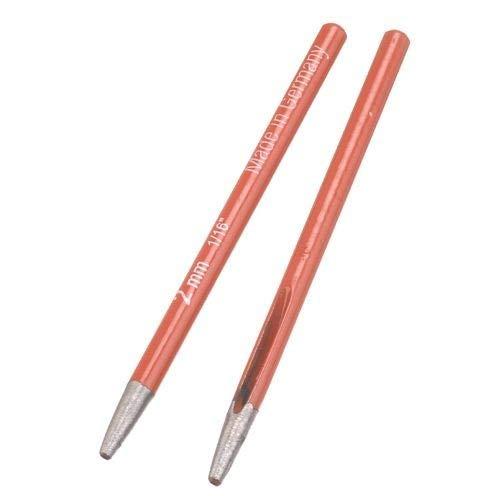 Efco Ovale à œillets Punch, Rouge, 10 cm, 2 mm