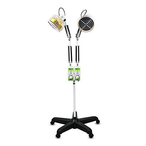 Y-Rachael Doppelkopf Physiotherapie Lampe Schönheitssalon Vertikale TDP Elektromagnetische Welle Back Lampe Gemeinsame Muskelschmerzen Behandlungsinstrument