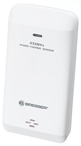 Bresser Wetterstation 8 Kanal Thermo-/Hygro Außensensor (geeignet für Bresser Meteo THBM und Meteo Life Wetterstationen)