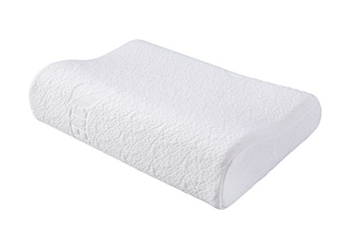 FMS Soft Comfy Memory Foam Contour Pillow for Children with Removable Case