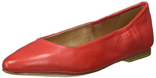 s.Oliver Damen 5-5-22101-24 Geschlossene Ballerinas, Rot (RED 500), 42