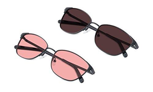 (Bundle) TheraSpecs Hudson Blue Light Glasses for Migraine, Light Sensitivity
