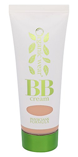 Physicians Formula Organic Wear 100% Natural Origin BB Beauty Balm Cream, Light/Medium, 1.2 Fluid Ounce