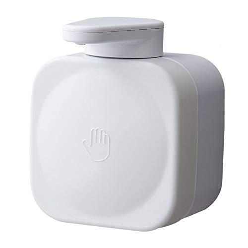 Bomba electrica Dispensador de jabón líquido para cocina y dormitorio, desinfectante de manos montado en pared, dispensador de jabón a mano recargable (10oz / 300ml) Soporte de suelo telescópico