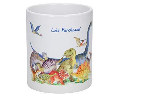 elasto Personalisierte Tasse mit Namen 0,33L Kindertasse mit Motiv und Wunschtext Geschenk für Mädchen & Jungen (Motiv 2)
