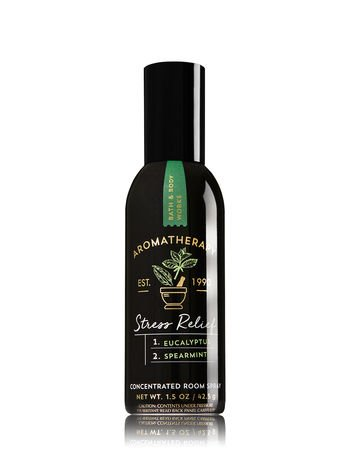 Bath and Body Works Aromatherapy Stress Relief Eucalyptus & Spearmint Concentrated Room Spray. 1.5 Oz.