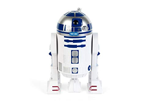 Funko SW00702 Star Wars Figural Cookie Jar with Sounds: R2-D2, Stone, White/Blue, 23x21x23 cm