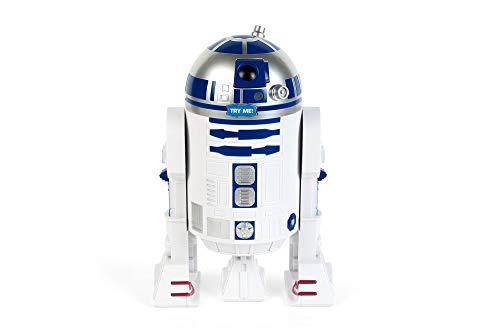 Funko SW00702 Star Wars Figural Cookie Jar with Sounds: R2-D2, Stone, White/Blue, 23x21x23 cm
