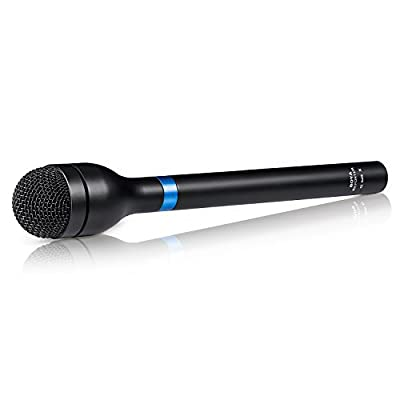 BOYA BY-HM100 Dynamic Omnidirectional Handheld Microphone XLR for ENG and Interviews and News