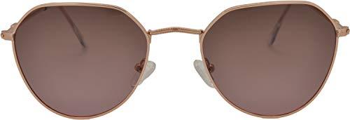 SQUAD Gafas de sol Para hombres y mujeres polarizadas, Clásicas Estilo Vintage Redondas, 100% protección UV400 Con cierre de aro